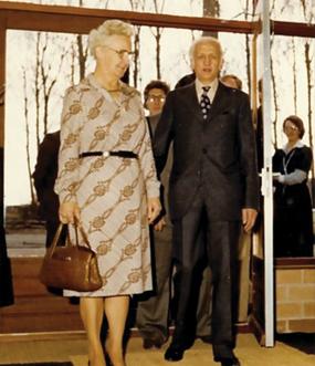欧曼公司创始人Jack Alma sr.先生及其夫人