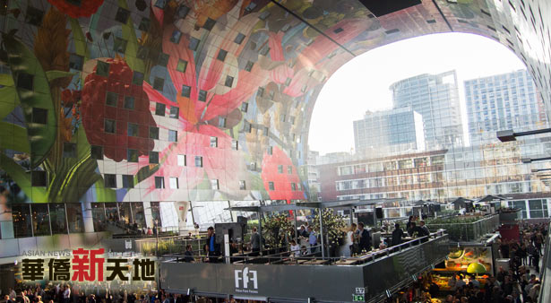 Vanmiddag feestelijke opening van markthal rotterdam for Fellini rotterdam
